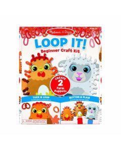 Loop It Farm Puppet
