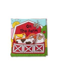 On the Farm Cloth Book
