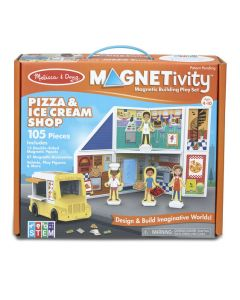 Ice Cream &Pizza Magnetivity