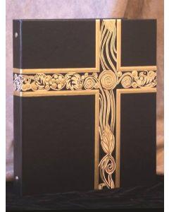 Ceremonial Binder Black/Gold