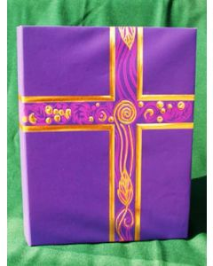 Ceremonial Binder Royal Purple/Gold