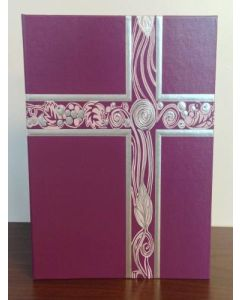 Ceremonial Binder Purple/Silver