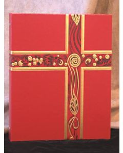 Ceremonial Binder Red/Gold