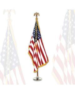 American Flag Set Indoor 4x6