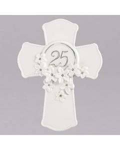 "7""H 25th Anniversary Cross"