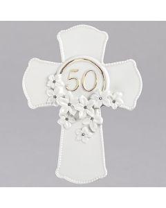 "7""H 50th Anniv Cross"