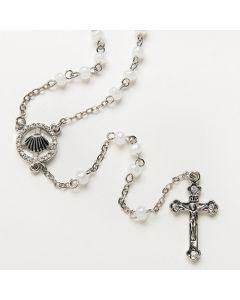 "Baptism Rosary 37.5"" L"