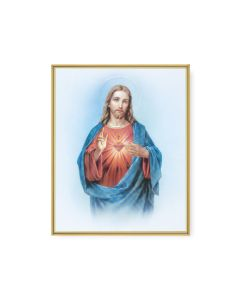 Sacred Heart of Jesus Plaque