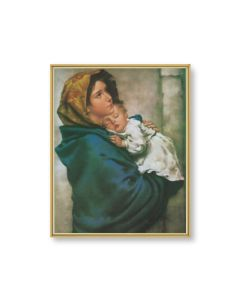 Madonna of the Street Plaque