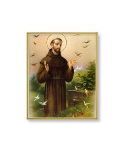 St Francis of the Assisi Plaque