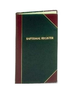Baptismal Register 2000 entry