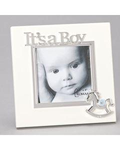 "7""H Its A Boy Frame - Hold 4x4caroline Collection"