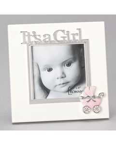 """7""""H It A Girl Frame - Hold 4x4caroline Collection"""
