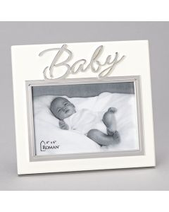 """7""""H Baby Frame - Holds 4x6caroline Collection"""