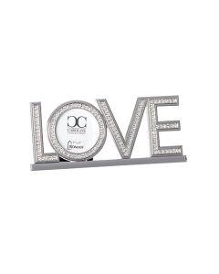 """3.25""""H Love Frame Holds 3x3"""