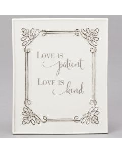 "6.5""H Wedding Wall Plaque"