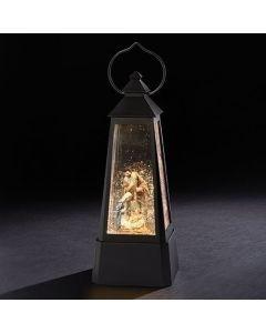"11""Lantern W/Holy Family Swirl"