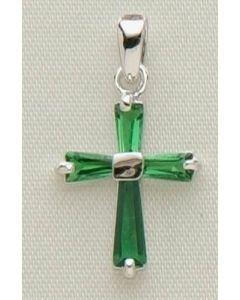 """.5"""" May B'stone Cross Pendant"""