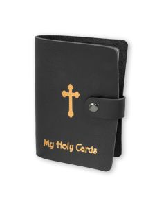 Black Holy Card Folder