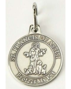 St Francis Pet Medal 2 Styles