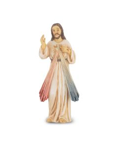 Divine Mercy Resin Statue