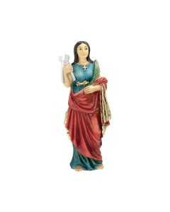 St Agatha Resin Statue