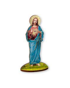 Sacred Heart Jesus Wood Cutout