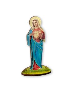 Immaculate Heart of Mary Wood cutout