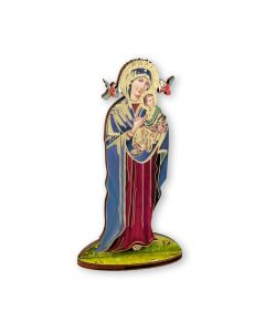 Our Lady of Perpetual Help Cut Out Wood