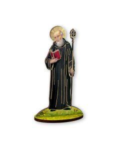 St Benedict Statue