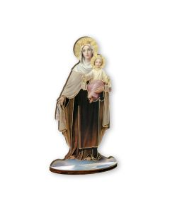 Our Lady of Mount Carmel Cut out Woo