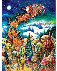 """St Nicholas 300 pc puzzle - 18"""" x 24"""" - Artist: Bill Bell"""