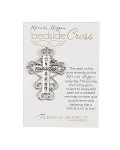 Miracles Happen Bedside Cross