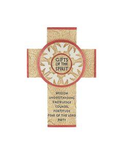 Gift Of The Spirit Wall Cross
