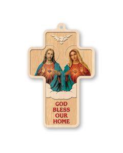 House Blessing Wood Cross