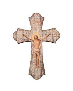 "12"" Wood Crucifixation Cross"