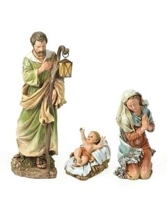 "27"" Scale Color Holy Family"