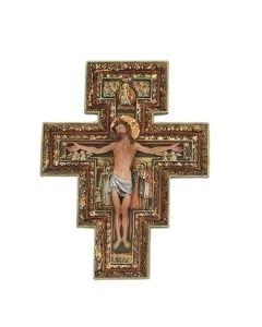 """10.75"""" San Damiano Cross"""