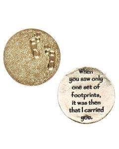 """1""""Dia Footprints Pocket Token"""