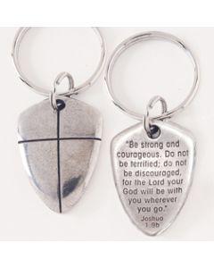 Shield of Faith Keychain