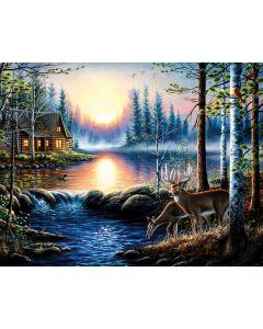 "Total Bliss 1000+ pc puzzle - 27"" x 35"" - Artist: Chuck Black"