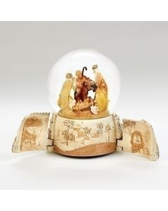"""7.5""""H Musical Holy Family Dome"""