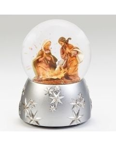 """6""""H Musical Holy Family Dome 1"""