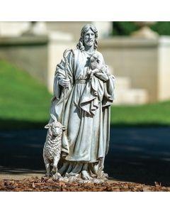 """25""""H Good Shepherd Figure"""