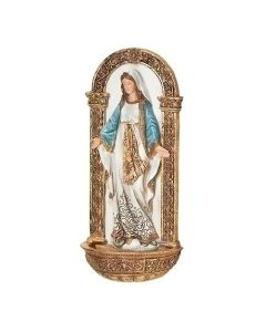 "7.25"" Our Lady Of Grace Font"