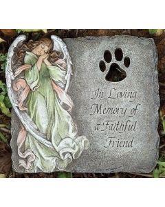 "9"" Pet Memorial Garden Stone"