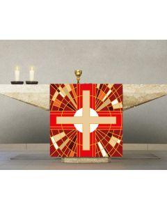 Digital Printed Altar Cover Red