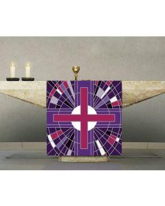 Digital Printed Altar Cover Purple
