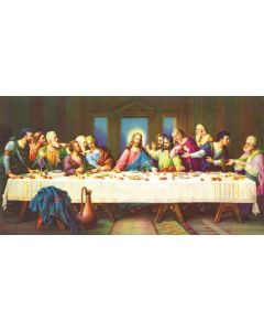 The Last Supper 1000 Puzzle 16x34 inches, Art by Balliol