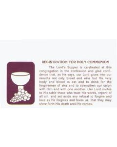 LCMS Communion Reg Cards (box/500)